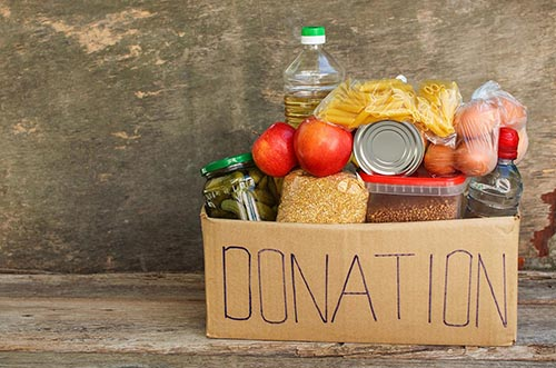 food donations to living in liberty
